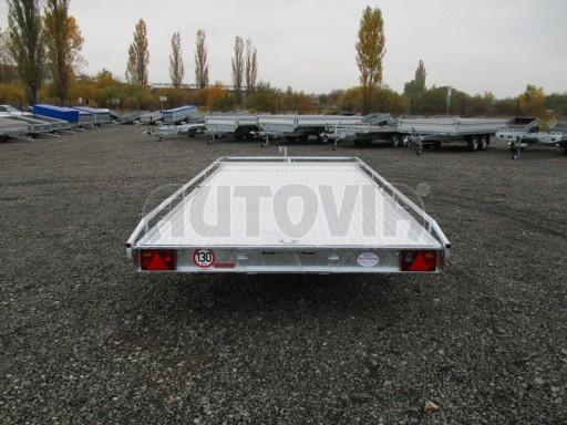 Přívěs pro převoz aut sklopné plato ALU - AD 3,5T 4,50x2,09* č.10