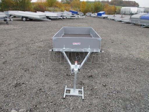Přívěsný vozík profi PV 750kg N1 2,53x1,28/0,30 zesílená náprava č.2