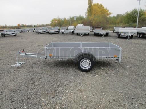 Přívěsný vozík profi PV 750kg N1 2,53x1,28/0,30 zesílená náprava č.4