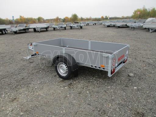 Přívěsný vozík profi PV 750kg N1 2,53x1,28/0,30 zesílená náprava č.5