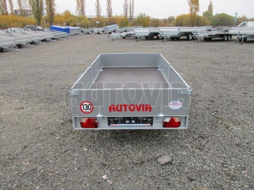 Přívěsný vozík profi PV 750kg N1 2,53x1,28/0,30 zesílená náprava č.6