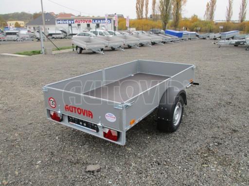 Přívěsný vozík profi PV 750kg N1 2,53x1,28/0,30 zesílená náprava č.7