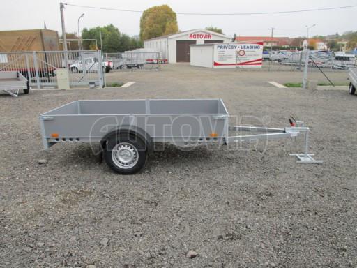 Přívěsný vozík profi PV 750kg N1 2,53x1,28/0,30 zesílená náprava č.8