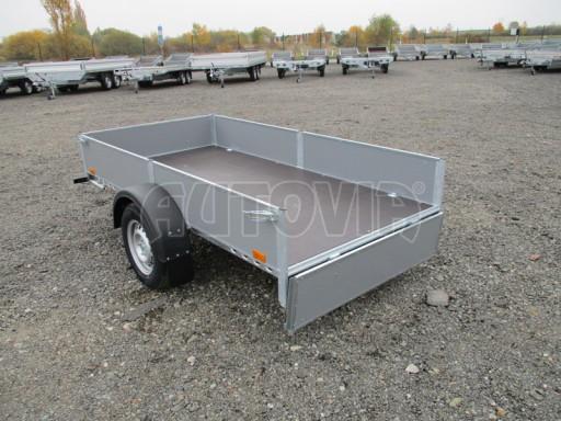 Přívěsný vozík profi PV 750kg N1 2,53x1,28/0,30 zesílená náprava č.9