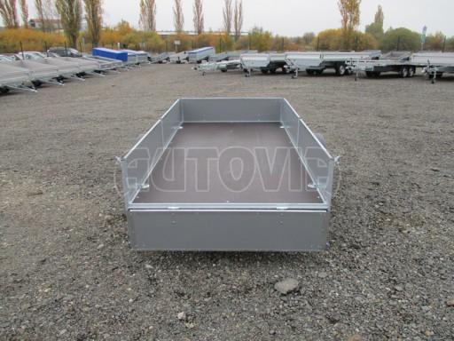 Přívěsný vozík profi PV 750kg N1 2,53x1,28/0,30 zesílená náprava č.10