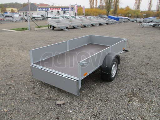Přívěsný vozík profi PV 750kg N1 2,53x1,28/0,30 zesílená náprava č.11