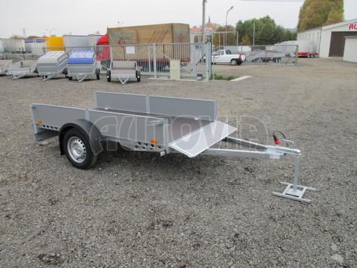 Přívěsný vozík profi PV 750kg N1 2,53x1,28/0,30 zesílená náprava č.12