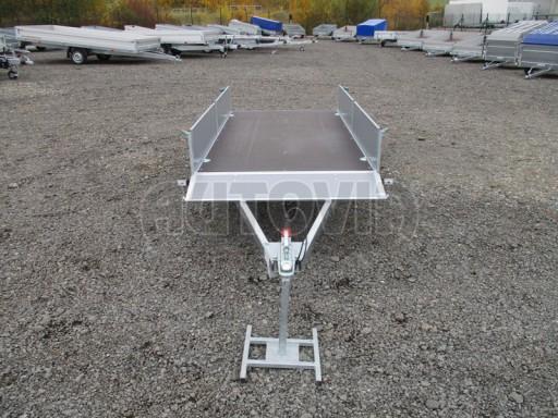 Přívěsný vozík profi PV 750kg N1 2,53x1,28/0,30 zesílená náprava č.13