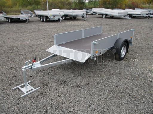 Přívěsný vozík profi PV 750kg N1 2,53x1,28/0,30 zesílená náprava č.14