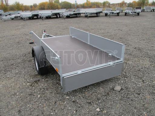 Přívěsný vozík profi PV 750kg N1 2,53x1,28/0,30 zesílená náprava č.15