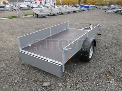 Přívěsný vozík profi PV 750kg N1 2,53x1,28/0,30 zesílená náprava č.16