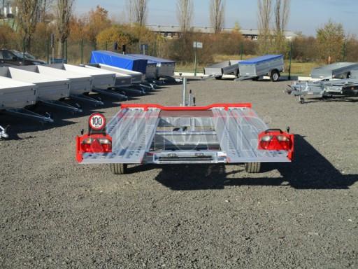 Přepravník automobilů IM 2,7T 5,01x2,09 ližiny č.49