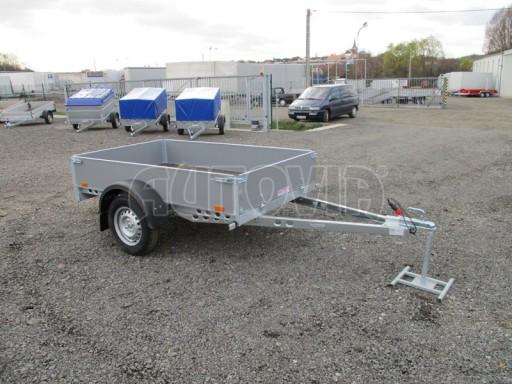 Přívěsný vozík za osobní auto PV 750kg N1 2,10x1,28/0,30 zes. náprava č.5