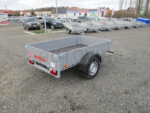 Přívěsný vozík za osobní auto PV 750kg N1 2,10x1,28/0,30 zes. náprava č.2