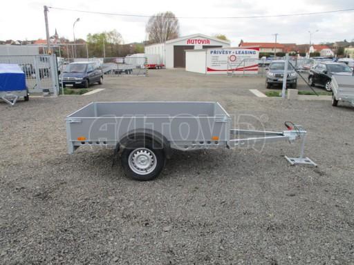 Přívěsný vozík za osobní auto PV 750kg N1 2,10x1,28/0,30 zes. náprava č.9