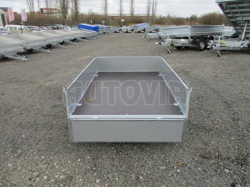 Přívěsný vozík za osobní auto PV 750kg N1 2,10x1,28/0,30 zes. náprava č.11