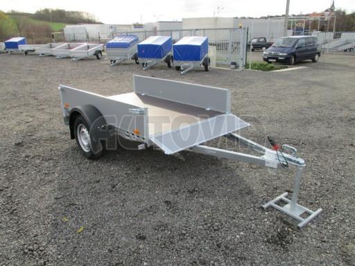 Přívěsný vozík za osobní auto PV 750kg N1 2,10x1,28/0,30 zes. náprava č.3