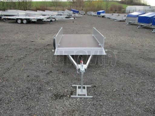 Přívěsný vozík za osobní auto PV 750kg N1 2,10x1,28/0,30 zes. náprava č.13