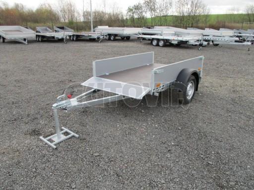 Přívěsný vozík za osobní auto PV 750kg N1 2,10x1,28/0,30 zes. náprava č.14