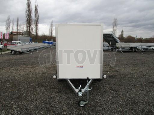 Skříňový přívěs za osobní auto ZV 26 N1 skříň 2,50x1,25/1,50 č.2