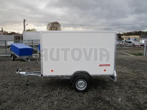 Skříňový přívěs za osobní auto ZV 26 N1 skříň 2,50x1,25/1,50 č.4