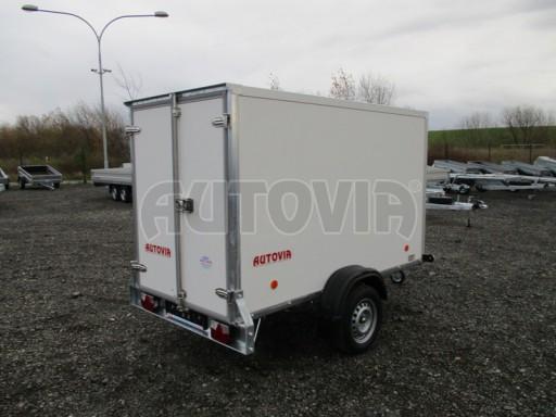 Skříňový přívěs za osobní auto ZV 26 N1 skříň 2,50x1,25/1,50 č.7