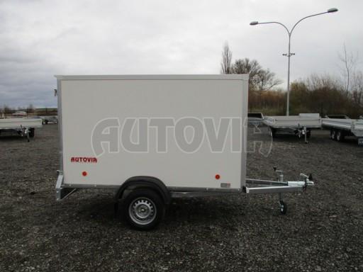 Skříňový přívěs za osobní auto ZV 26 N1 skříň 2,50x1,25/1,50 č.8