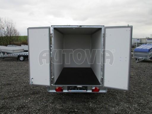 Skříňový přívěs za osobní auto ZV 26 N1 skříň 2,50x1,25/1,50 č.10