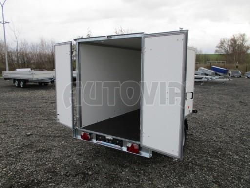 Skříňový přívěs za osobní auto ZV 26 N1 skříň 2,50x1,25/1,50 č.11