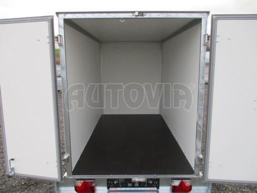 Skříňový přívěs za osobní auto ZV 26 N1 skříň 2,50x1,25/1,50 č.12