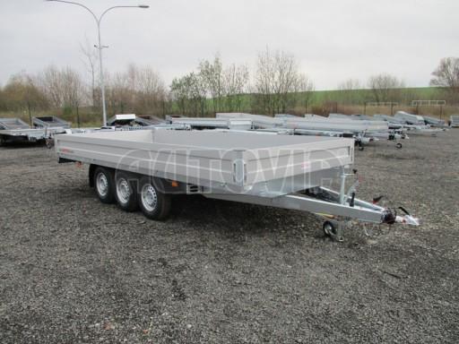 Třínápravový nákladní přívěs DN 3,5T B3 5,05x2,20/0,35 1350** č.1