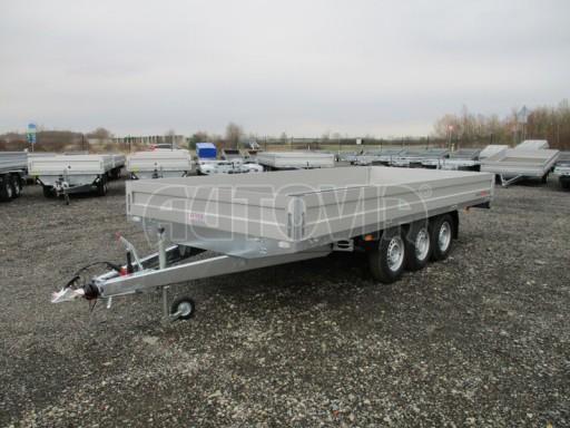 Třínápravový nákladní přívěs DN 3,5T B3 5,05x2,20/0,35 1350** č.3