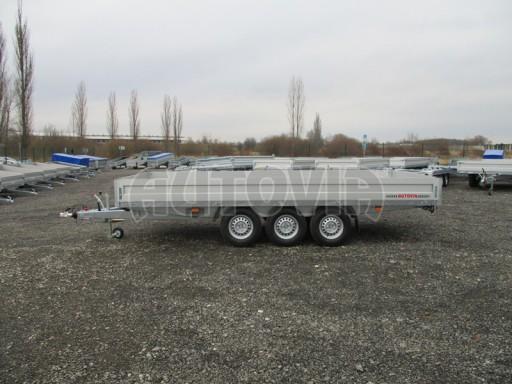 Třínápravový nákladní přívěs DN 3,5T B3 5,05x2,20/0,35 1350** č.4