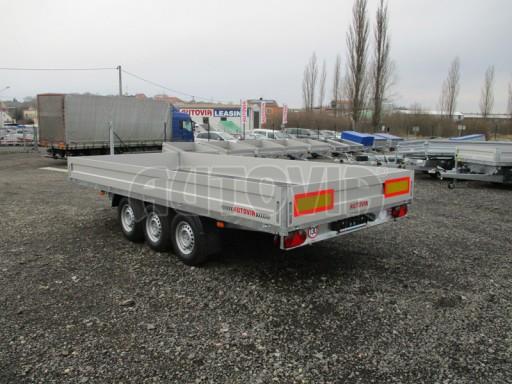 Třínápravový nákladní přívěs DN 3,5T B3 5,05x2,20/0,35 1350** č.5