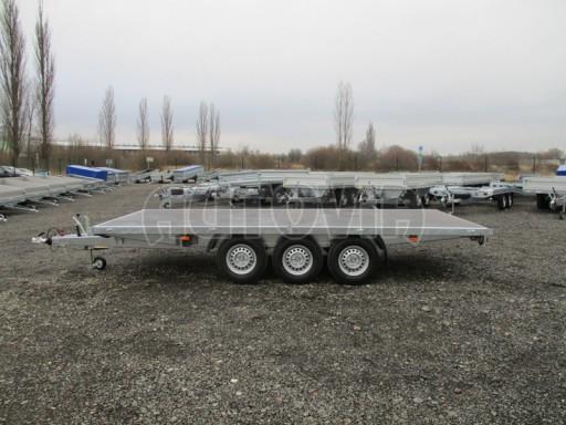 Třínápravový nákladní přívěs DN 3,5T B3 5,05x2,20/0,35** č.13