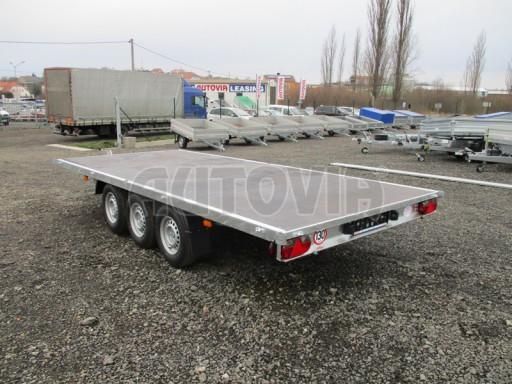 Třínápravový nákladní přívěs DN 3,5T B3 5,05x2,20/0,35 1350** č.14