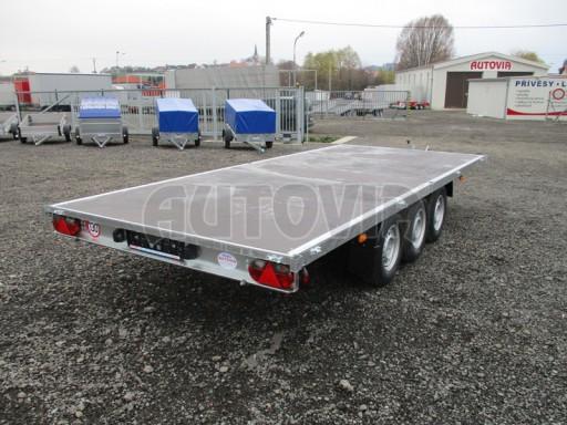 Třínápravový nákladní přívěs DN 3,5T B3 5,05x2,20/0,35 1350** č.15