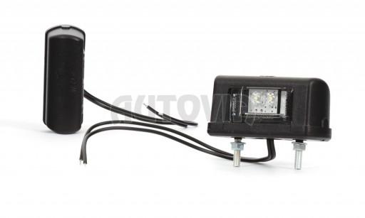 Svítilna RZ černá LED č.1