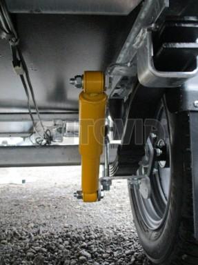 Překližkový přívěsný vozík ZV 27 750kg N1 2,50x1,48/0,35 LP POČ** č.8