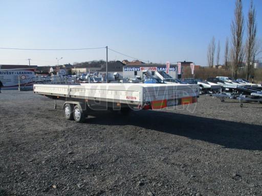 Bazarový nákladní přívěs MKD DN 3,5T B2 7,40x2,47/0,35 č.3