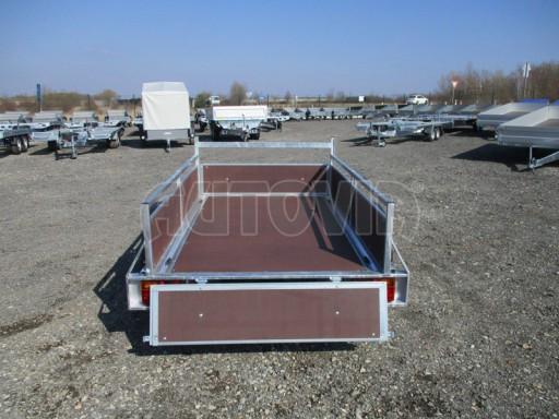 Nebrzděný jednoosý přívěs VA 750kg 2,06x1,27/0,30 zes. náprava č.9