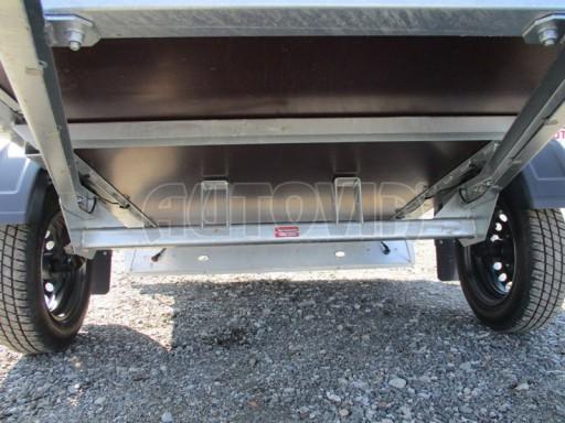 Nebrzděný jednoosý přívěs VA 750kg 2,06x1,27/0,30 zes. náprava č.10