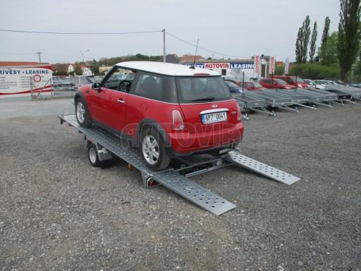 Přívěs na přepravu aut KAR 08 1,5T 3,50x1,95 č.1
