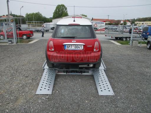 Přívěs na přepravu aut KAR 08 1,5T 3,50x1,95 č.11
