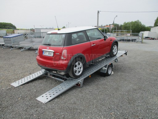 Přívěs na přepravu aut KAR 08 1,5T 3,50x1,95 č.3