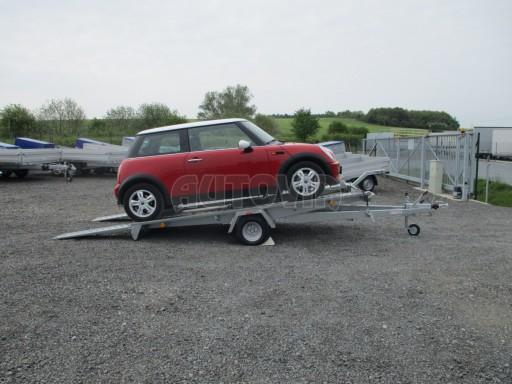 Přívěs na přepravu aut KAR 08 1,5T 3,50x1,95 č.4