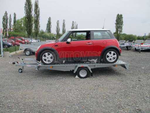 Přívěs na přepravu aut KAR 08 1,5T 3,50x1,95 č.14
