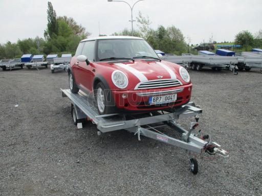 Přívěs na přepravu aut KAR 08 1,5T 3,50x1,95 č.17