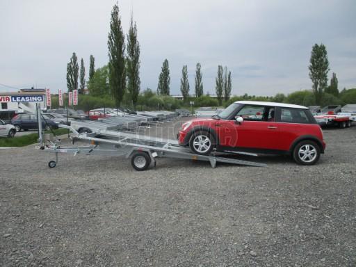 Přívěs na přepravu aut KAR 08 1,5T 3,50x1,95 č.7