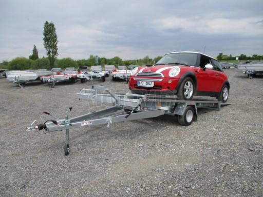 Přívěs na přepravu aut KAR 08 1,5T 3,50x1,95 č.20